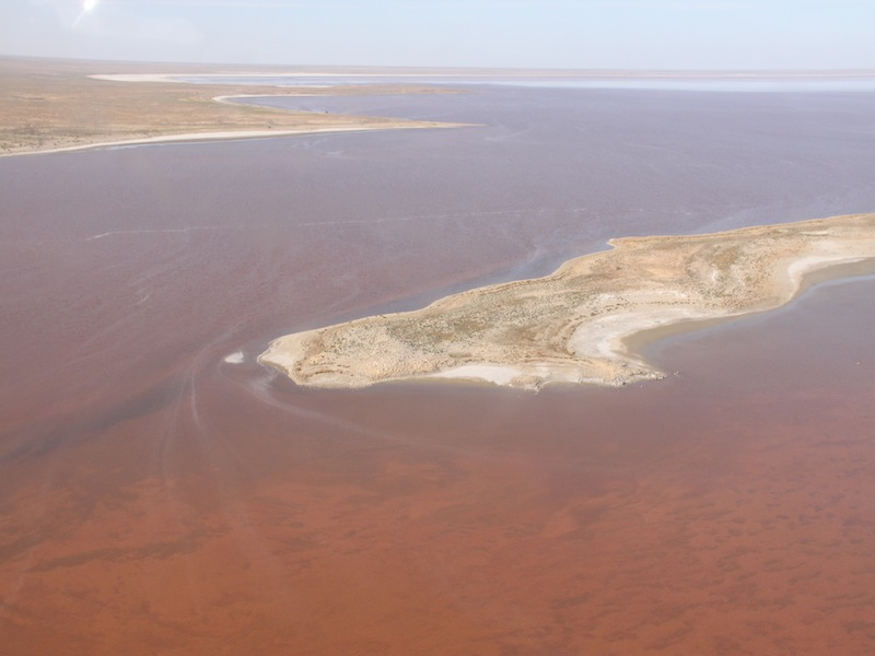 Lake Eyre & Coober Pedy, Australien - April 2010