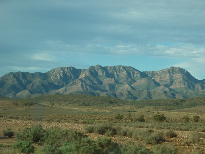 Flinders Ranges & William Creek, Australien - April 2010