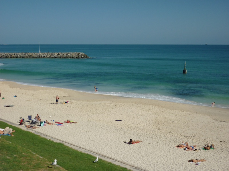 Cottesloe Beach in Perth, Australien - Mai 2010