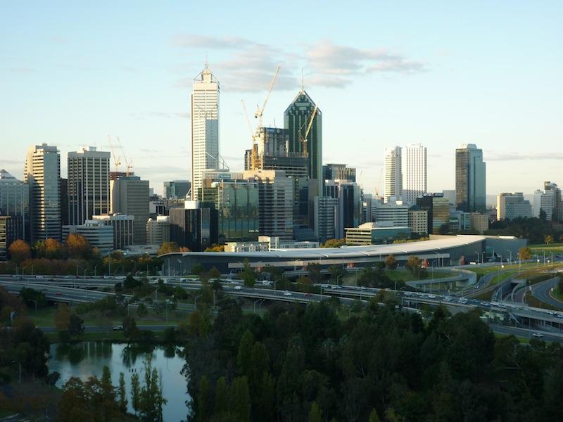 Perth, Australien - Mai 2010