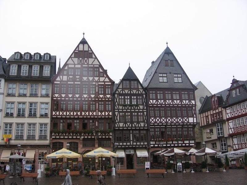 Kurz-Trip nach Frankfurt, Deutschland - September 2008