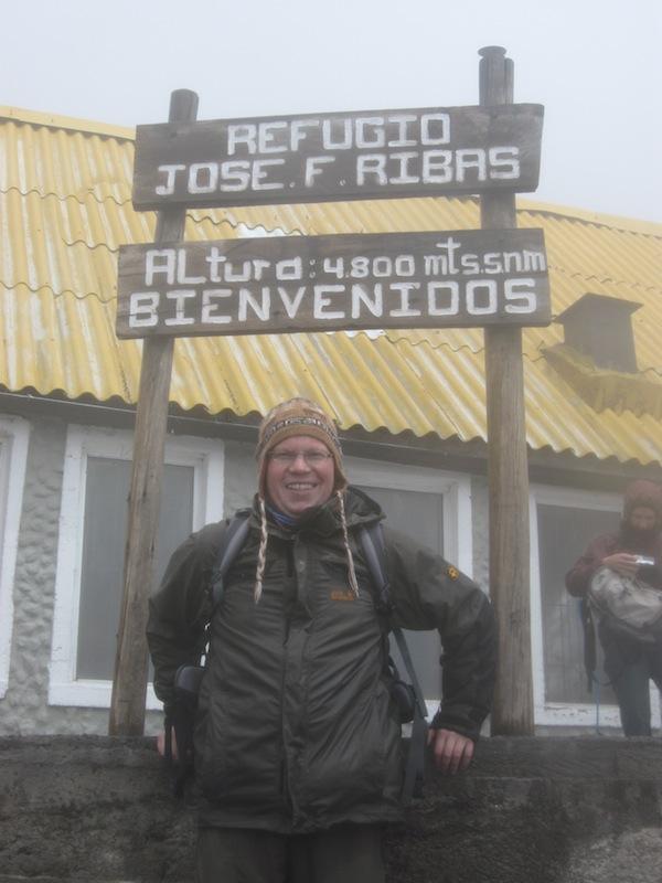 Cotopaxi, Ecuador - Juli 2009