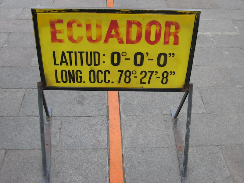 Mitad del Mundo, Ecuador - Juli 2009