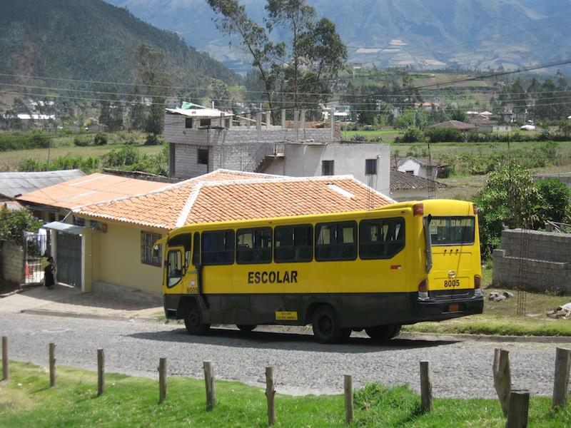 Der Wochenmarkt in Otavalo, Ecuador - Juli 2009