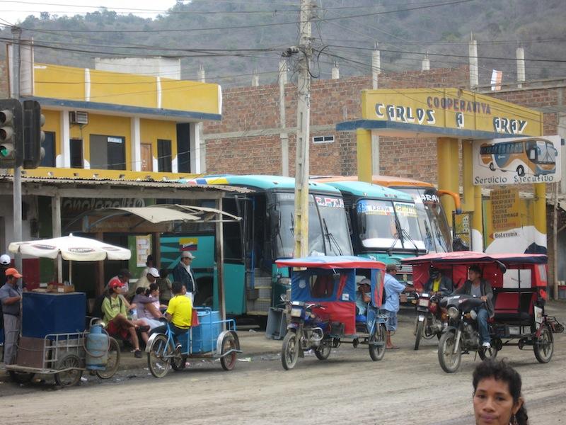 Puerto Lopez, Ecuador - Juli 2009