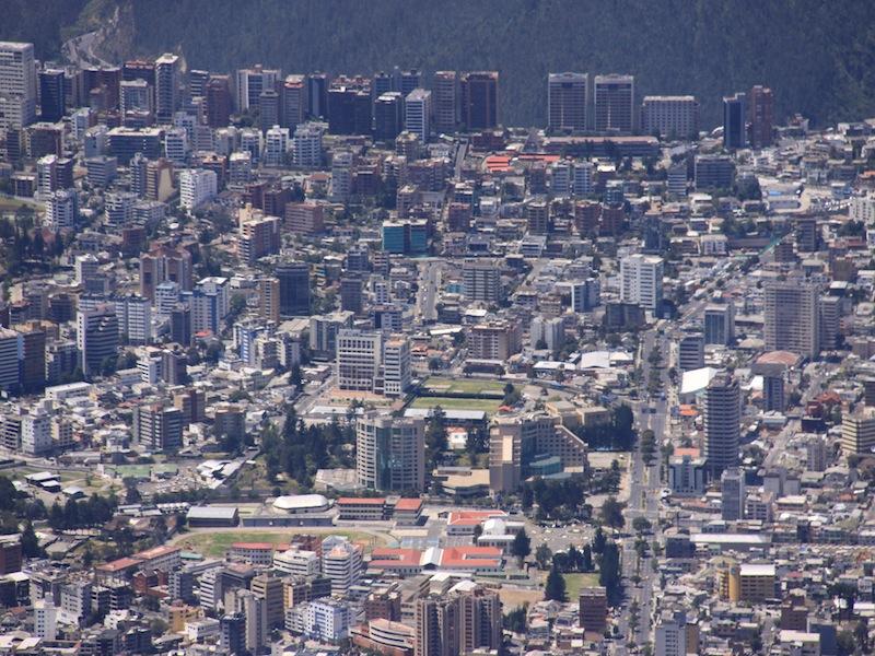 Teleférico in Quito, Ecuador - Juli 2009