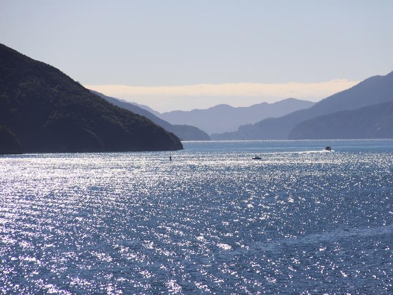 Cook Strait & Abel Tasman Nationalpark, Neuseeland - März 2010