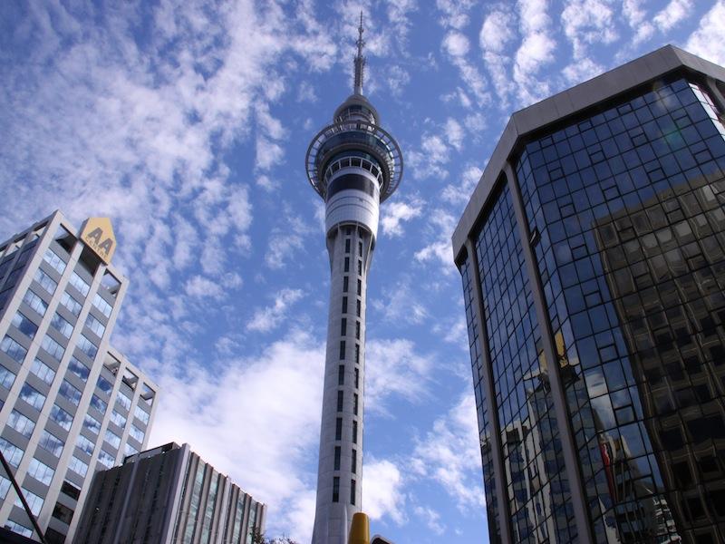 Auckland, Neuseeland - März 2010