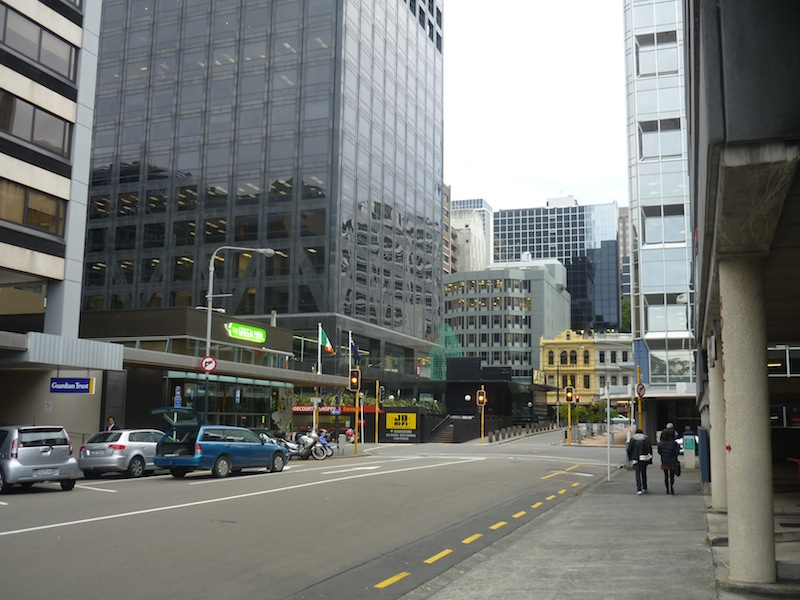 Wellington, Neuseeland - März 2010