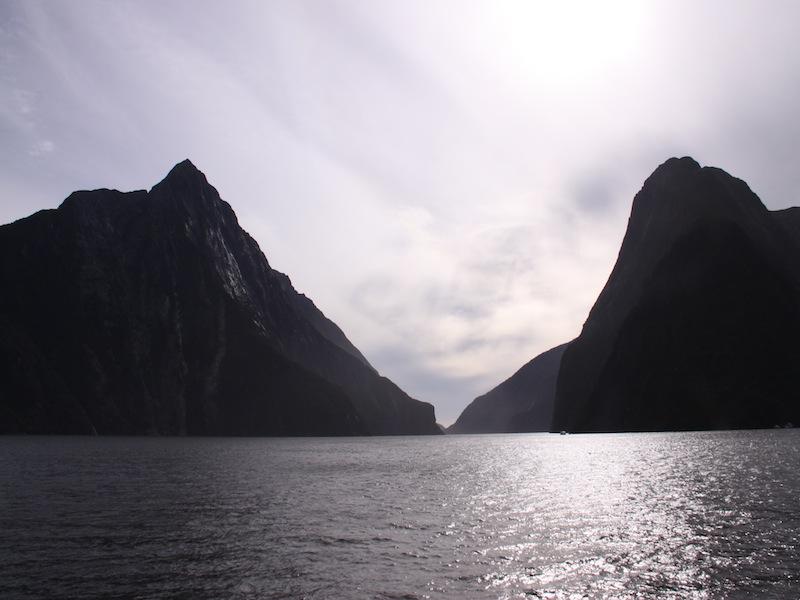 Milford Sound, Neuseeland - März 2010