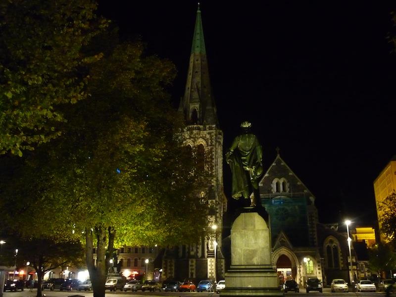 Christchurch, Neuseeland - März 2010