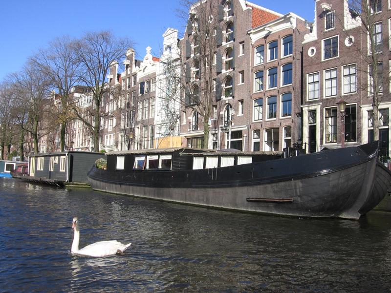 Kurz-Urlaub in Amsterdam, Niederlande - November 2007