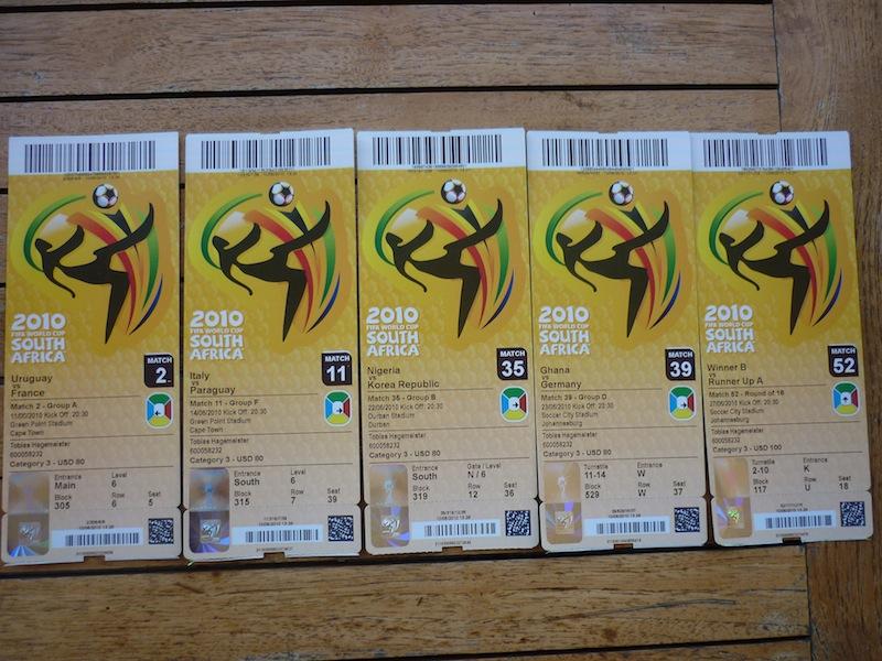 Meine fünf WM Karten