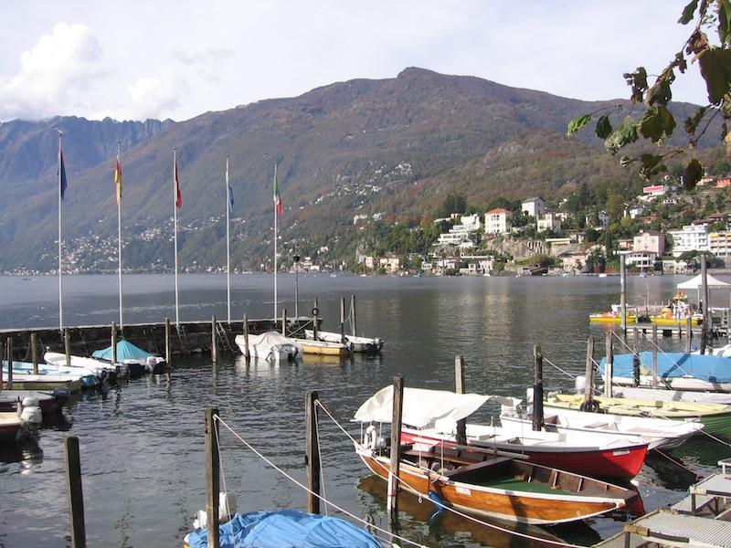 Firmen-Ausflug nach Locarno, Schweiz - Oktober 2007