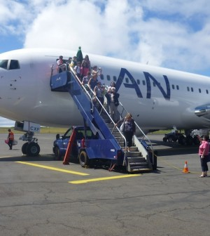 Der Abschied aus Südamerika