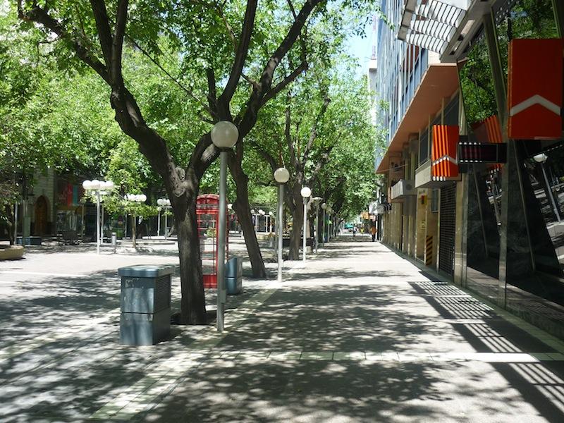 Mendoza, Argentinien - Dezember 2009