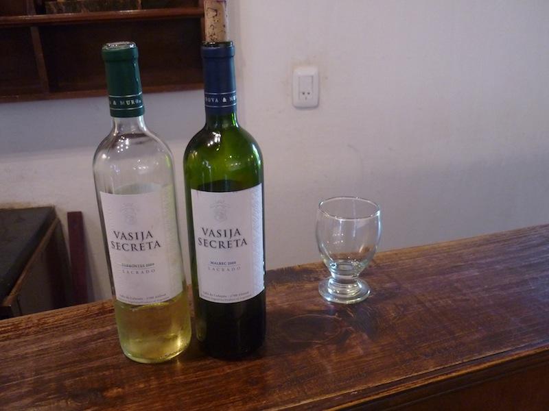 Weinprobe in Cafayate, Argentinien - Januar 2010