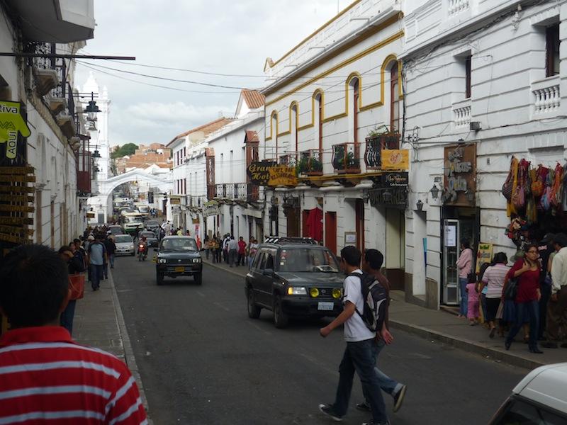 Sucre, Bolivien - Dezember 2009
