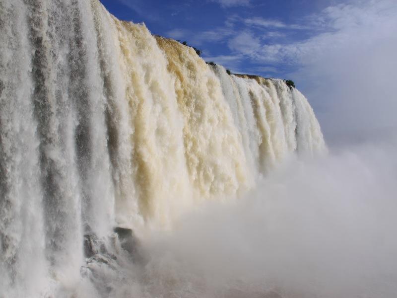 Die Iguacu Wasserfälle in Brasilien - Januar 2010