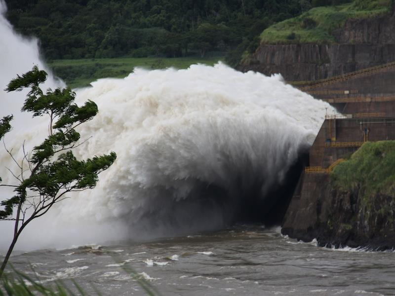 Itaipu Wasserkraftwerk, Brasilien - Januar 2010