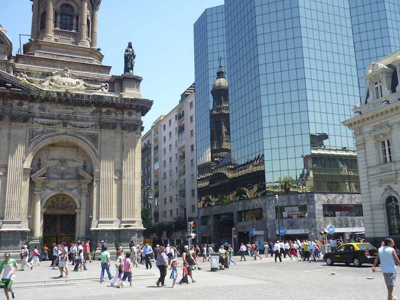 Santiago de Chile, Chile - Februar 2010
