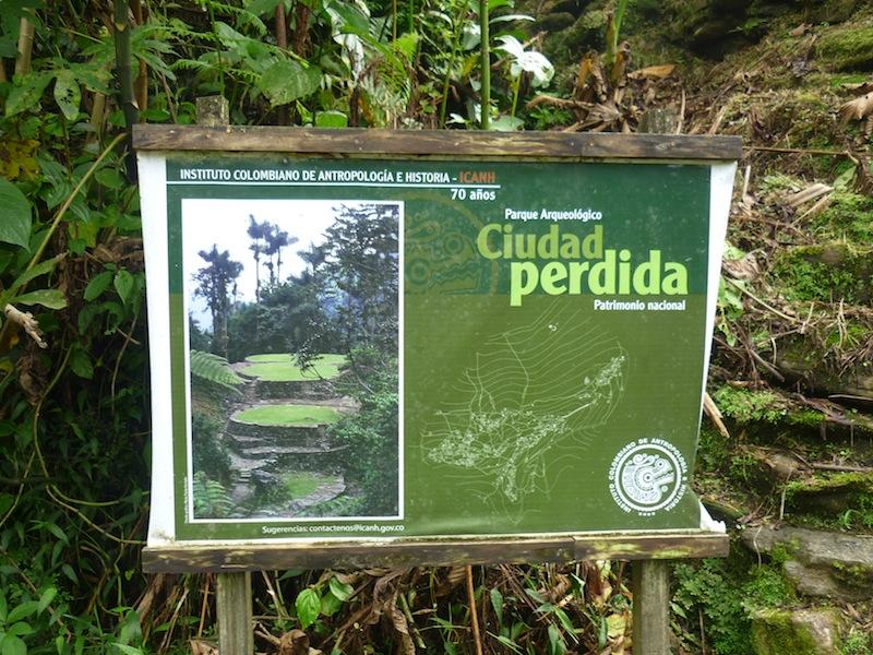 Ciudad Perida, Kolumbien - August 2009