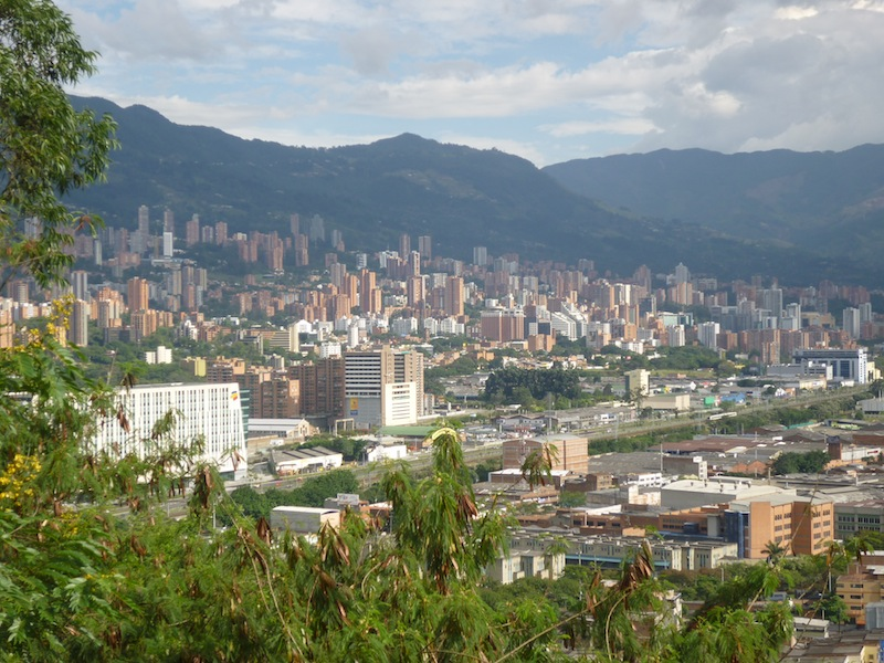 Medellin, Kolumbien - August 2009