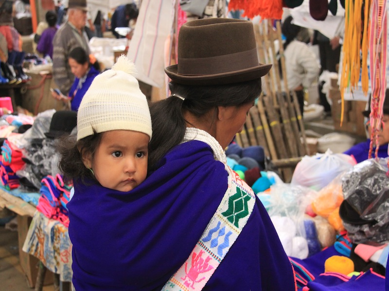 Silvia, Kolumbien - August 2009