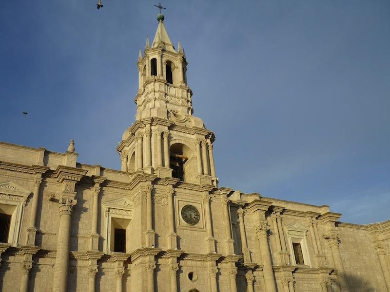 Die Kathedrale von Arequipa in Peru - November 2009