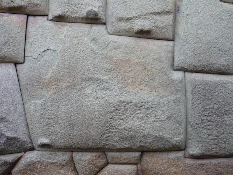 Der 12-eckige Stein in Cuzco, Peru - Dezember 2009