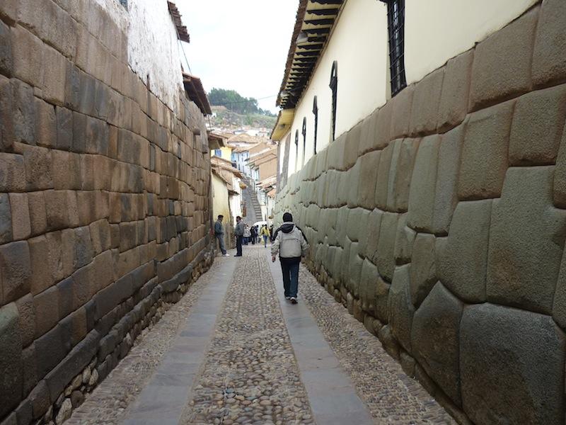 Die Innenstadt von Cuzco, Peru - Dezember 2009