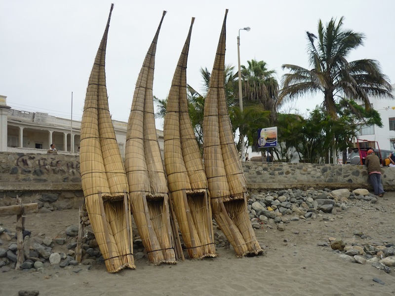 Huanchaco, Peru - Oktober 2009