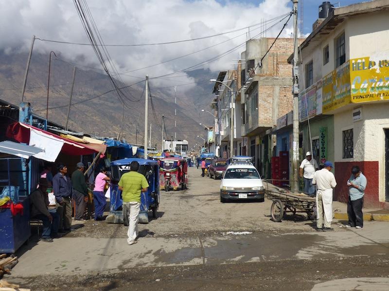 Huaraz, Peru - Oktober 2009
