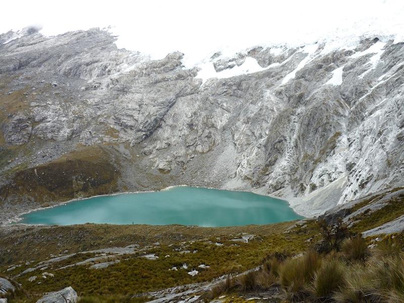 Kurz vor dem Gipfel am Santa Cruz Trek in Peru- Oktober 2009