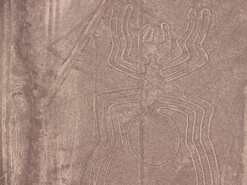 Nazca-Linien, Peru - November 2009